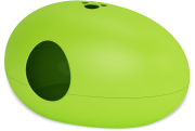 Green catbox ''Poo Poo Pee Do''