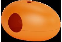 Maison de toilette / Niche Poopoopeedo - Orange